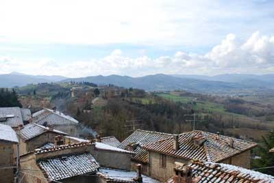 panorama tetti montone in