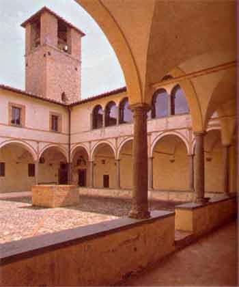 chiostro chiesa san francesco montone in