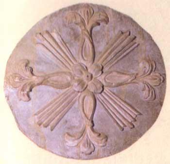 pittore metà del XIV secolo Croci di consacrazione montone in
