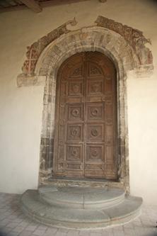 portale chiesa san francesco Montonein