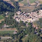 Foto aerea Montone