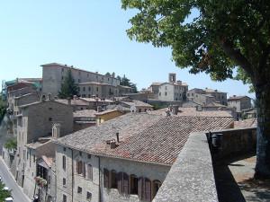 Vista di Montone