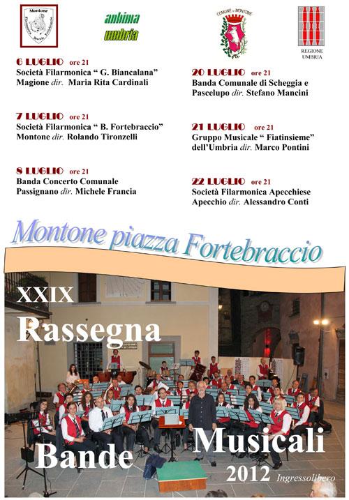 XXIX Rassegna Bande Musicali in