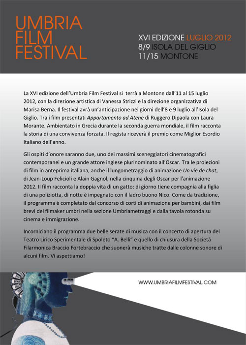 umbria film festival montone in
