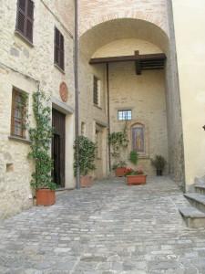 ingresso Monastero di S.Agnese - montonein