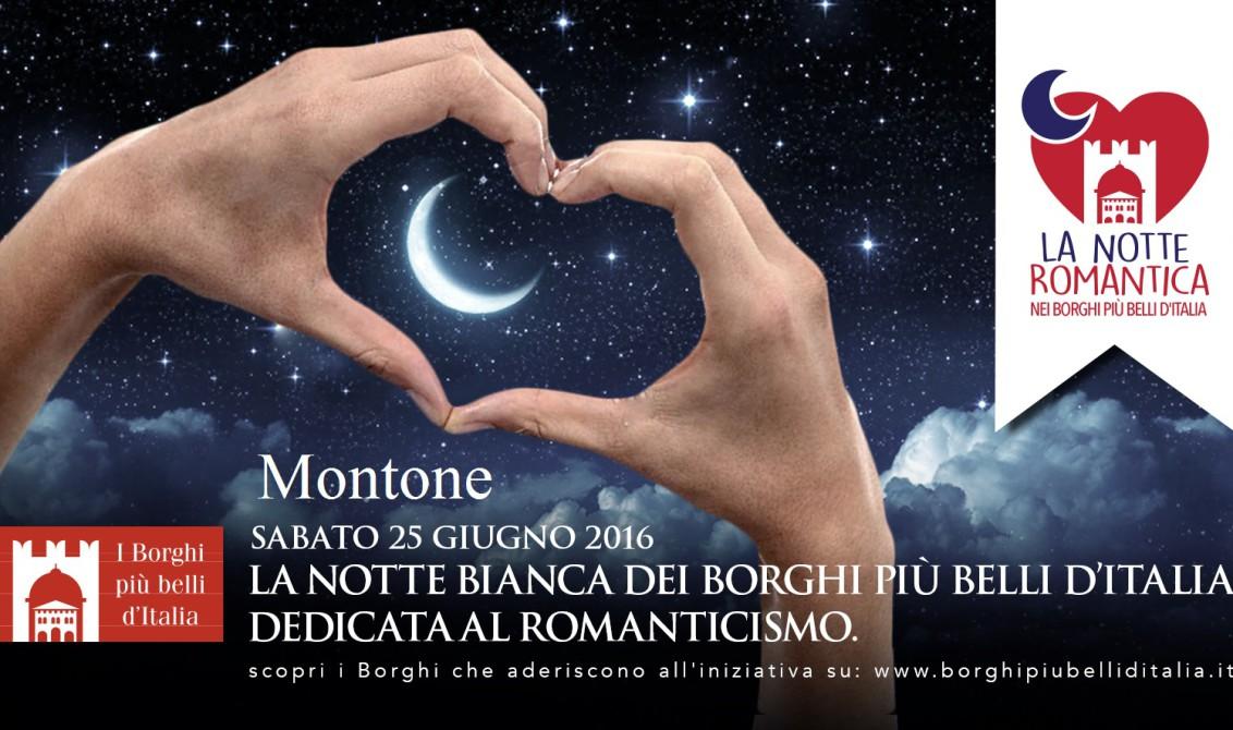 La notte romantica dei Borghi piu belli MONTONE