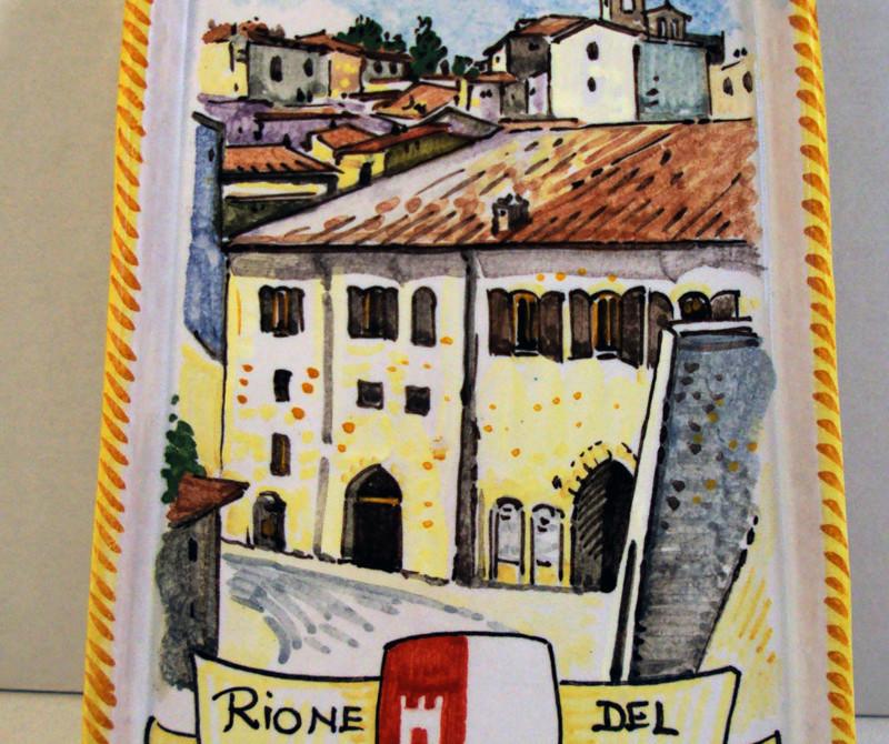 Ceramica decorata per Montone